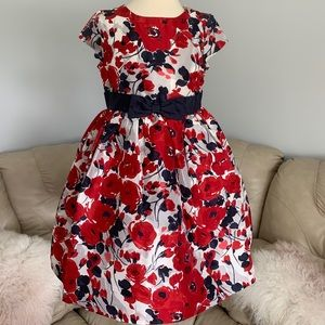 """New Janie and Jack """"Holiday Traditions"""" Dress Sz 4"""